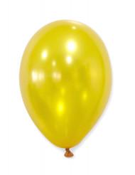 50 Balões dourados metálicos