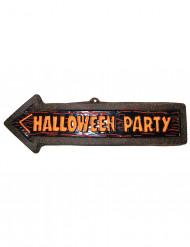Decpração de parede seta Halloween Party