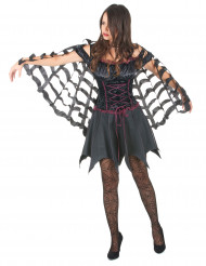 Capa aranha mulher Halloween