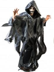 Capa preta e branca adulto Halloween