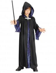 Disfarce mago menino Halloween