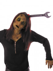 Bandolete chave de boca sangrenta adulto Halloween