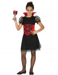 Disfarce vampira menina Halloween