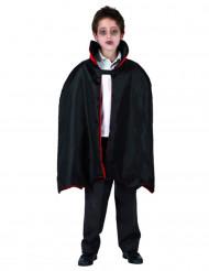 Capa de vampiro menino Halloween