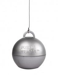 Peso balão hélio prateado