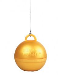 Peso balão hélio dourado