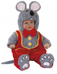 Disfarce Rato bébé luxo