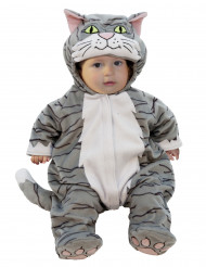 Disfarce Gato bébé luxo