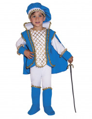 Disfarce Príncipe encantado azul menino
