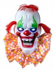 Decoração luminosa e sonora palhaço de terror Halloween