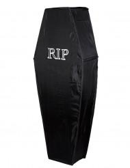 Caixão preto RIP 150 cm Halloween