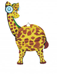 Lampião papel girafa 45 cm