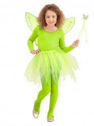 Kit princesa das fadas verdes criança