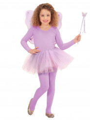 KIt princesa das fadas lilás menina
