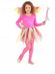 KIt princesa das fadas arco-íris menina
