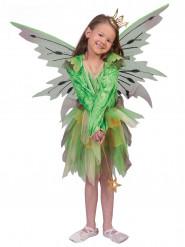 Disfarce elfo da floresta menina