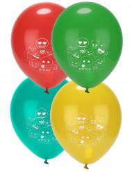 8 Balões látex Emoji™