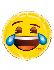 Balão alumínio Rir e derramar lágrimas Emoji™