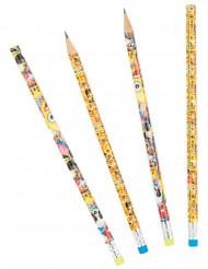 6 lápis papel Emoji™