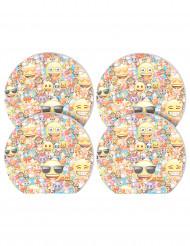 4 blocos de notas Emoji™