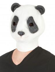 Máscara panda látex adulto