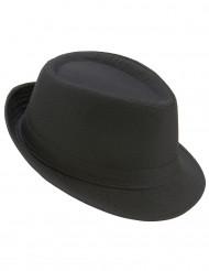 Chapéu borsalino preto adulto