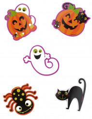 10 grandes Confetis monstros Halloween