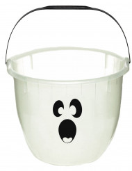 Balde fantasma fosforescente Halloween