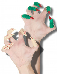 20 dedos de bruxa e vampiro Halloween