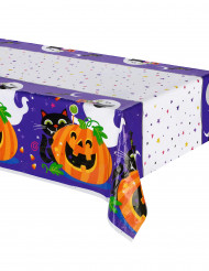 Toalha de plástico Abóbora halloween.