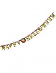 Grinalda abóbora Happy Halloween