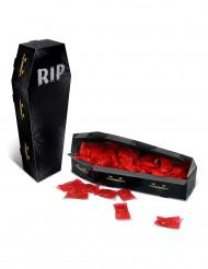 Centro de mesa caixa Caixão RIP Halloween