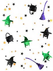 Confetis bruxa Halloween