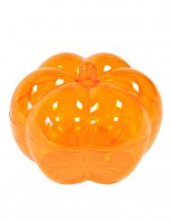 Caixa abóbora cor de laranja halloween
