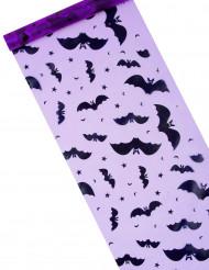 Caminho de mesa morcego halloween