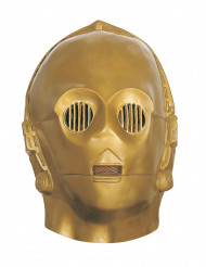 Máscara flexível C3PO™ adulto - Star Wars™