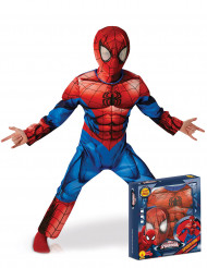 Disfarce luxo Ultimate Spiderman™ menino
