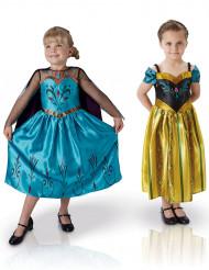 Pack de dois disfarces clássicos menina Elsa e Anna- Frozen™