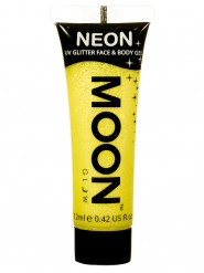 Gel rosto e corpo brilhantes amarelos UV Moonglow©