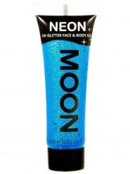 Gel rosto e corpo brilhantes azuis UV Moonglow©