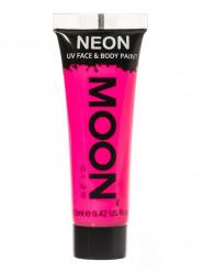Gel rosto e corpo cor-de-rosa fluo UV Moonglow©