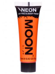 Gel rosto e corpo cor de laraja fluo UV Moonglow©