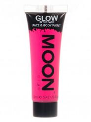 Gel rosto e corpo cor-de-rosa fluo fosforescente Moonglow©
