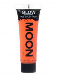 Gel rosto e corpo cor de laranja fluo fosforescente Moonglow©