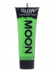 Gel rosto e corpo verde fluo fosforescente Moonglow©