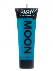 Gel rosto e corpo azul fosforescente Moonglow©