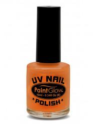 Verniz para unhas cor de laranja UV