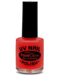 Verniz para unhas vermelho UV