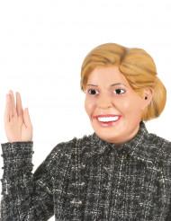 Máscara humorística de látex Rainha Maxima adulto