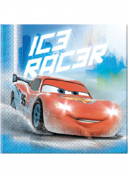 20 Guardanapos de papel Cars Ice™